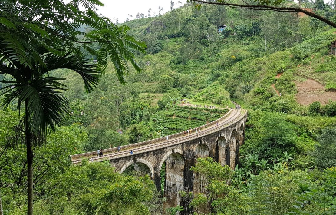 Nine Arch Bridge Sri Lanka Bergen