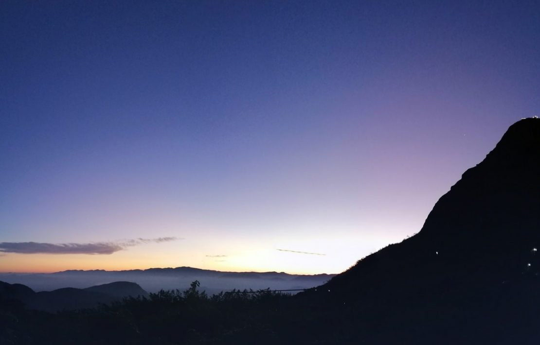 Adams Peak In De Nacht