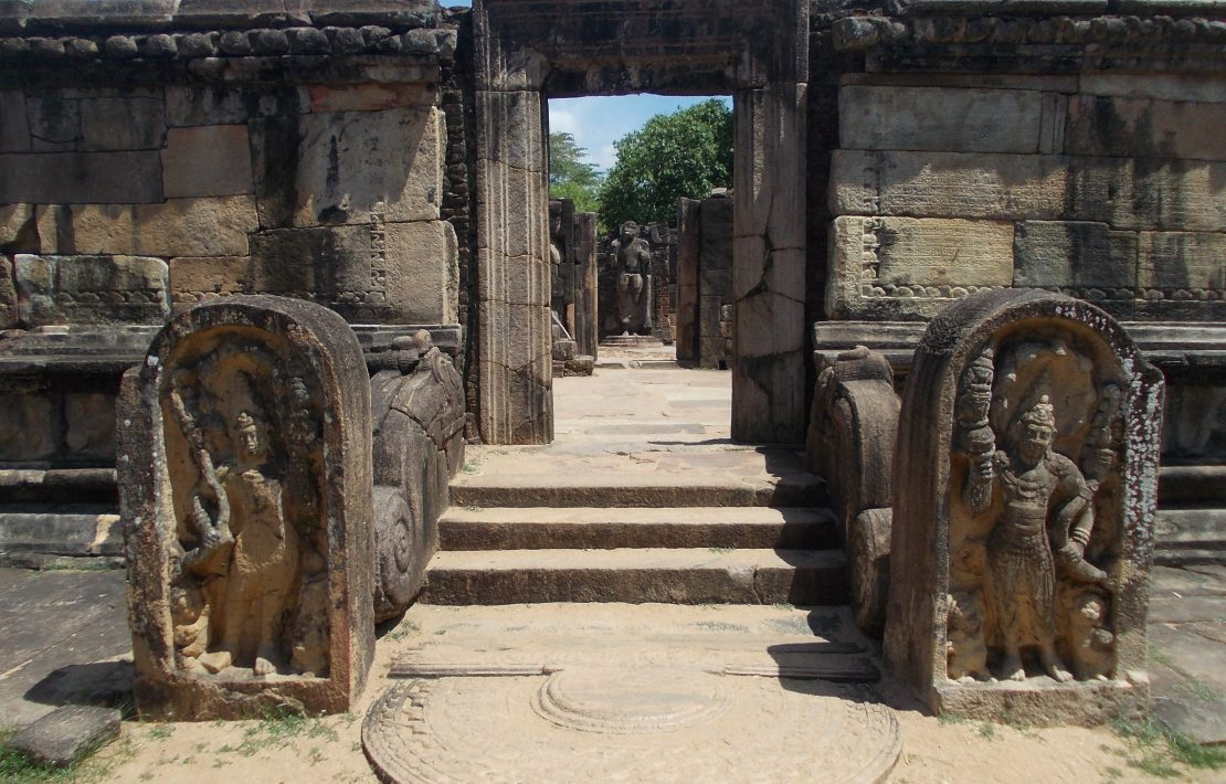 Poort Oude Stad Polonnaruwa